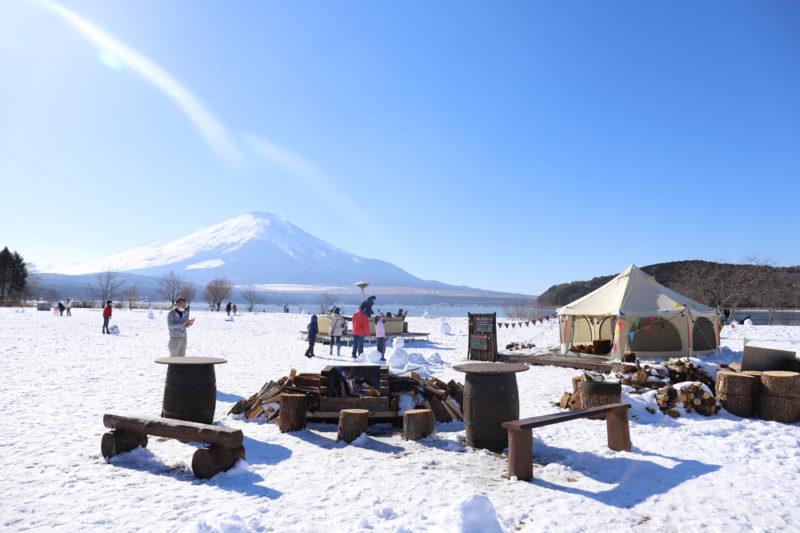 富士山 雪 へ go の